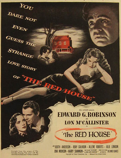 The Red House Edward G. Robinson 1947 Movie Ad