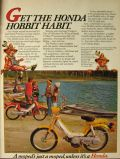 1978 Honda Hobbit Moped Ad ~ Hobbit Habit