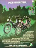 1978 Vintage Puch Moped Ad ~ Puch is Beautiful