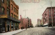 Butte, MT ~ E. Broadway ~ Finlen, Thornton Hotels