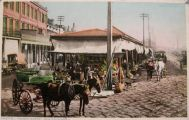 New Orleans, LA Vintage Postcard ~ French Market