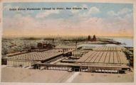 New Orleans, LA Postcard ~ Public Cotton Warehouse
