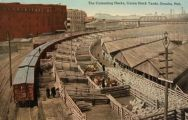 Omaha NE Vintage Postcard ~ Union Stock Yards