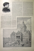 1894 Albany State Capitol Construction ~ Print & Article