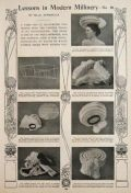 1902 How to Make a Hat ~ Modern Millinery Lesson