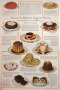 1918 Eggless Dessert Recipes