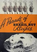 Vintage Brazil Nut Recipe Booklet