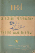 1932 Armour & Co. Recipe Booklet ~ Serving & Preparing Meat