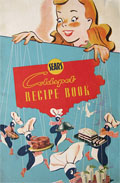 1950's Sears Coldspot Refrigerator Recipe Booklet