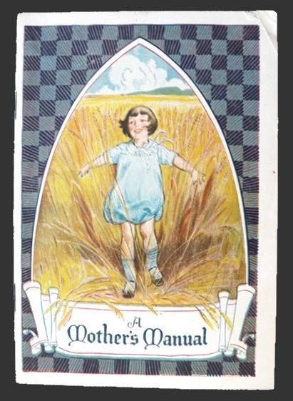 1928 Ralston Purina Recipe & Baby Care Booklet ~ A Mother's Manual