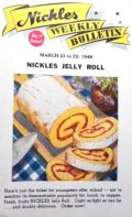1949 Vintage Nickles Bakery Weekly Bulletin Pamphlet