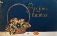 1920's Antique Sunmaid Raisins Recipe Booklet