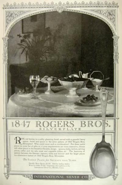 Silver and Flatware: 1847 Rogers Bros Silverware, 1847 rogers bros