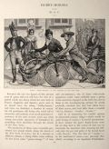 1891 The Hobby Horse Bicycle Craze ~ Article & Print