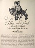 1916 Will Bradley Wonder Box Stories ~ Three and a Fourth