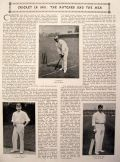 English Cricket in 1901 Article and Photos