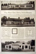 1916 The Possibilities of the One Story Schoolhouse ~ Portland OR & Artesia CA